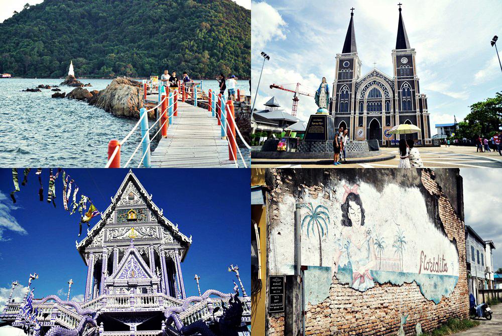 【尖竹汶府】兩天一夜尖竹汶府小旅行,玩遍三百年歷史教堂和老街、海中佛塔和藍廟