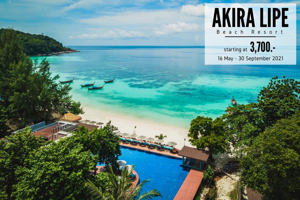 【泰國國旅】精選飯店:Akira Beach Resort Lipe 麗貝島四星級阿基拉度假村