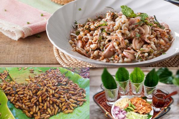 炸昆蟲、螞蟻蛋,這些奇特有趣的泰國料理你敢吃嗎?