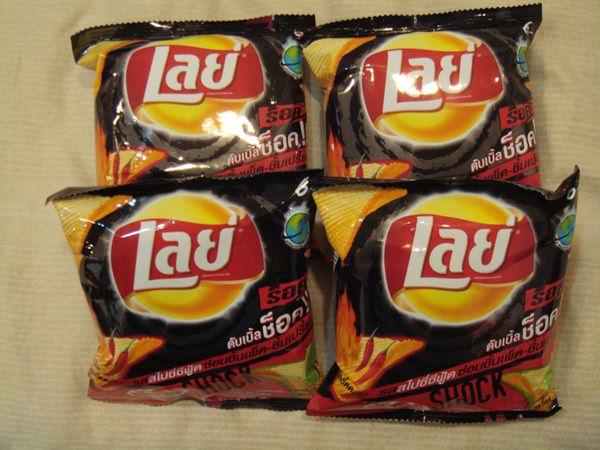 【泰國零食】 Lays泰式辣海鮮檸檬洋芋片